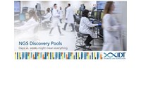 IDT launches custom enrichment panels for faster and lower cost next-generation sequencing at ASHG...