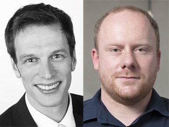 webinar speakers Torben Wulff of ZEISS Microscopy and Tim Schubert Materials Scientist at Aalen university