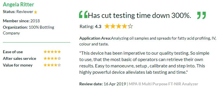 5 star review for the Resolvex™ A200 Automated ppSPE Workstation by Tecan