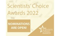 Nominate your favorite new lab product for a Scientists' Choice Award: Nominations open today