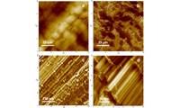 High-resolution imaging of single PTFE molecules on Teflon surface