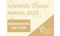 Nominations are open! Nominate your favorite new lab product of 2019 for a Scientists' Choice Award
