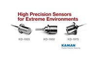 Kaman Measuring Announces Displacement Sensors and Systems for Extreme Environmental Conditions