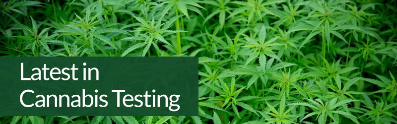 Latest in Cannabis Testing