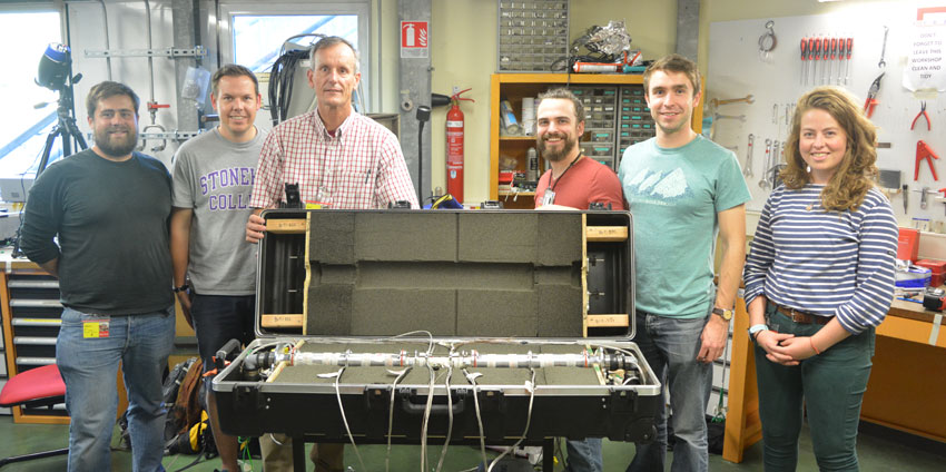 Paul shearing and collaborators at the Synchrotron