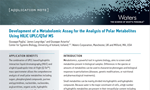 Development of a Metabolomic Assay for the Analysis of Polar Metabolites Using HILIC UPLC/QTof MS