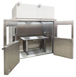AutoLabGard ES NU-125 Mini-Room Class II, Type A2 Biosafety Cabinet by NuAire, Inc. thumbnail