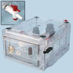 Scienceware® Secador® Desiccator Cabinets – Gas Purge Models by Bel-Art Products thumbnail