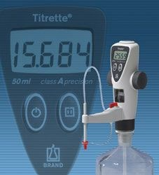 Titrette® - the bottle top burette by BRAND GMBH + CO KG product image