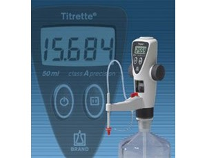 Titrette® - the bottle top burette