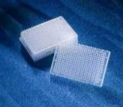 384 well polypropylene block, standard footprint, non-sterile, bulk - 3965