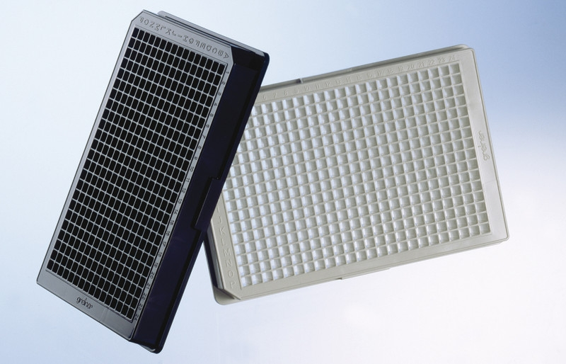 384 Well Polystyrene Microplates, Solid Bottom, Black or White by Greiner Bio-One GmbH thumbnail