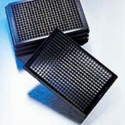 384-Well, Black, Clear Bottom, Ultra-Low Attachment Microplate - 3827 by Corning Life Sciences product image