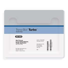 Trans-Blot® Turbo™ Mini Nitrocellulose Transfer Packs by Bio-Rad product image