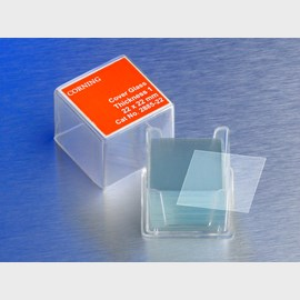 Corning® 25x25 mm Square #1½ Cover Glass by Corning Life Sciences product image