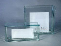 Glass Rectangular Developing Chamber for 20x20cm plates (with lid)