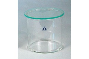Glass Cylindrical Developing Chamber for 10x10cm plates