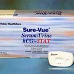 Sure-Vue STAT Serum/Urine hCG Test Kit by Fisher Scientific product image