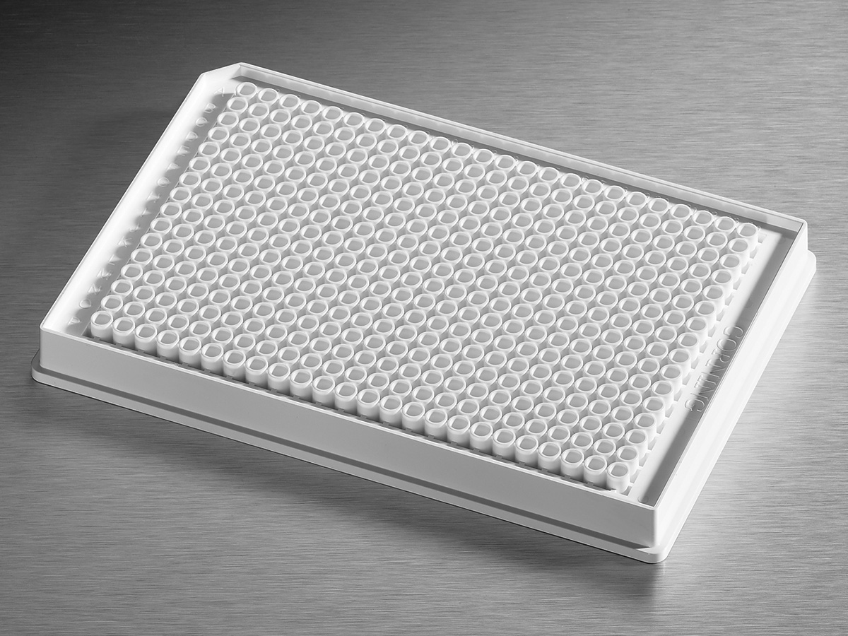 Corning® Low Volume 384-well White Flat Bottom Polystyrene NBS Microplate, 10 per Bag, without Lid, With Generic Bar Code, Nonsterile by Corning Life Sciences thumbnail