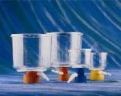Bottle Top Filters, 33mm neck, 1000ml, 90mm, CA, orange - 430014 by Corning Life Sciences product image