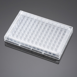BD Falcon 96-Square Well, Angled Bottom Plate and Lid by BD Biosciences Discovery Labware thumbnail