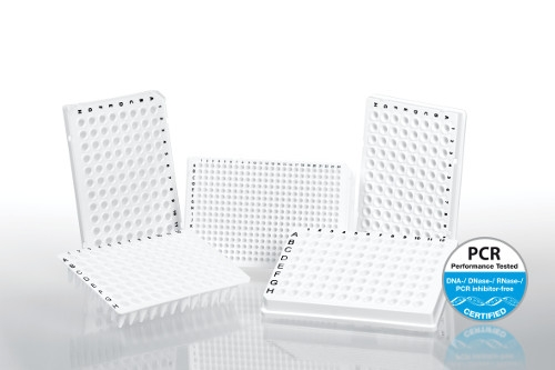 White Multiply® PCR Plates and highly transparent tapes for qPCR by SARSTEDT AG & Co. thumbnail