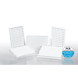 White Multiply® PCR Plates and highly transparent tapes for qPCR by SARSTEDT AG & Co. product image