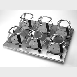 Corning® Platform with 6 x 1L Flask Clamps by Corning Life Sciences product image