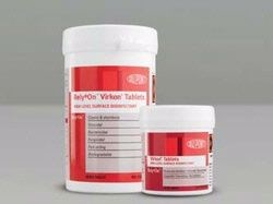Disinfectant Tablets Virkon Tub 330012