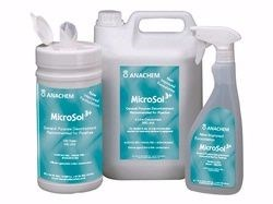 Decontaminant Microsol3+ Wipes pk125 MIC-204 by Anachem product image