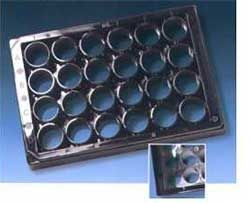 Krystal 24 Well Microplates - Black and White