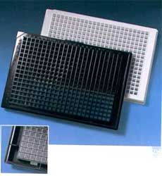 Krystal 384 Well Microplates - Black and White by Porvair Sciences Ltd thumbnail