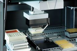 Freedom EVO<sup>®</sup> Nucleic Acid Sample Preparation Workstation by Tecan product image