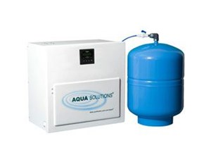 Compact Reverse Osmosis plus Deionization Water Purification System