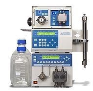 Preparative HPLC (KNAUER Prepline)