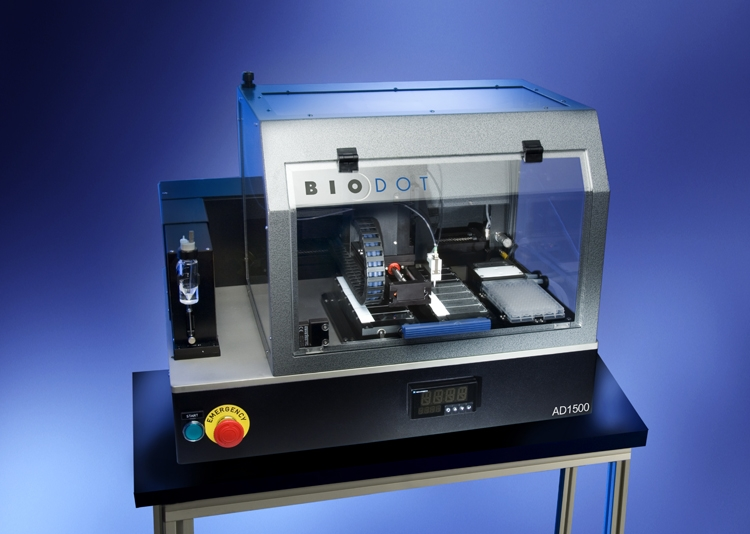 AD1520  Aspirate and Dispense Platform by BioDot Inc. thumbnail