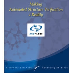 Automated Structure Verification by Advanced Chemistry Development, Inc.,  (ACD/Labs) thumbnail