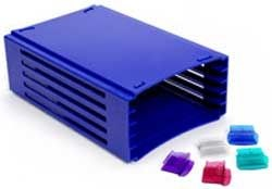 20-Place Slide Tray Racks by Heathrow Scientific product image