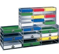 Storage Racks for Microscope Slide Boxes by Heathrow Scientific thumbnail