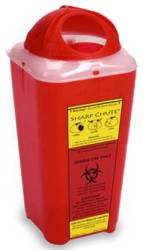 Sharps Chute™ Sharps Container by Heathrow Scientific thumbnail