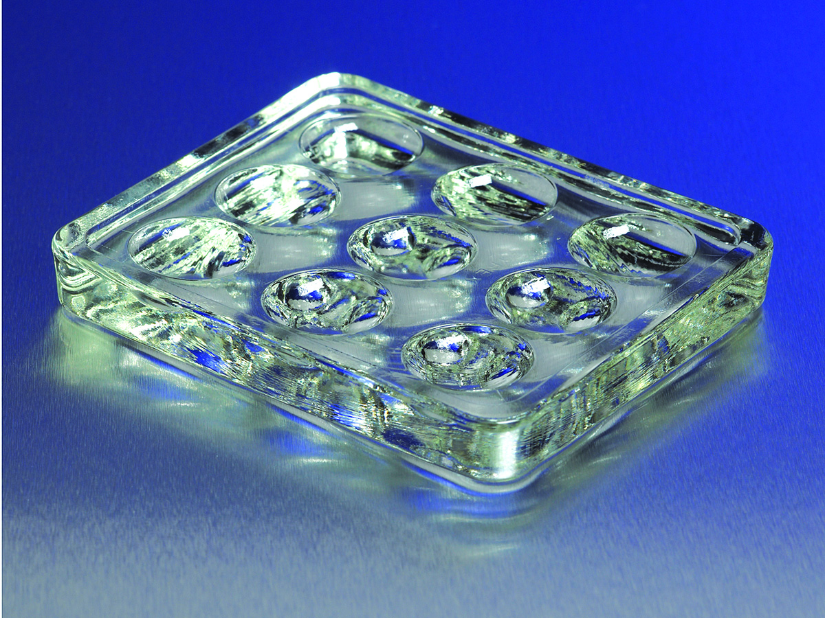 PYREX® 9 Depression Glass Spot Plates by Corning Life Sciences thumbnail