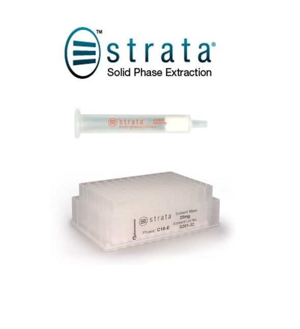 Strata® Solid Phase Extraction by Phenomenex Inc thumbnail