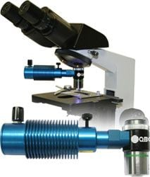 QBC ParaLens Advance Fluorescent Microscope Attachment by Woodley Equipment Company Ltd thumbnail