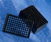 96 well black/clear bottom plate, TC-treated, sterile - 3614 by Corning Life Sciences thumbnail