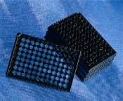 96 well black/clear bottom plate, TC-treated, sterile - 3614 by Corning Life Sciences product image