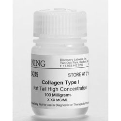Collagen I, High Concentration, Rat Tail, 100mg by Corning Life Sciences thumbnail