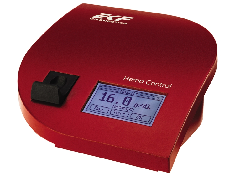 Hemo Control – Hemoglobin & Hematocrit analyzer by EKF Diagnostics thumbnail