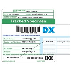 DX Tracked Specimen Delivery Service by DX product image