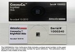 CHROMACAL Color Calibration Slide (glass; for whole slide imaging systems)