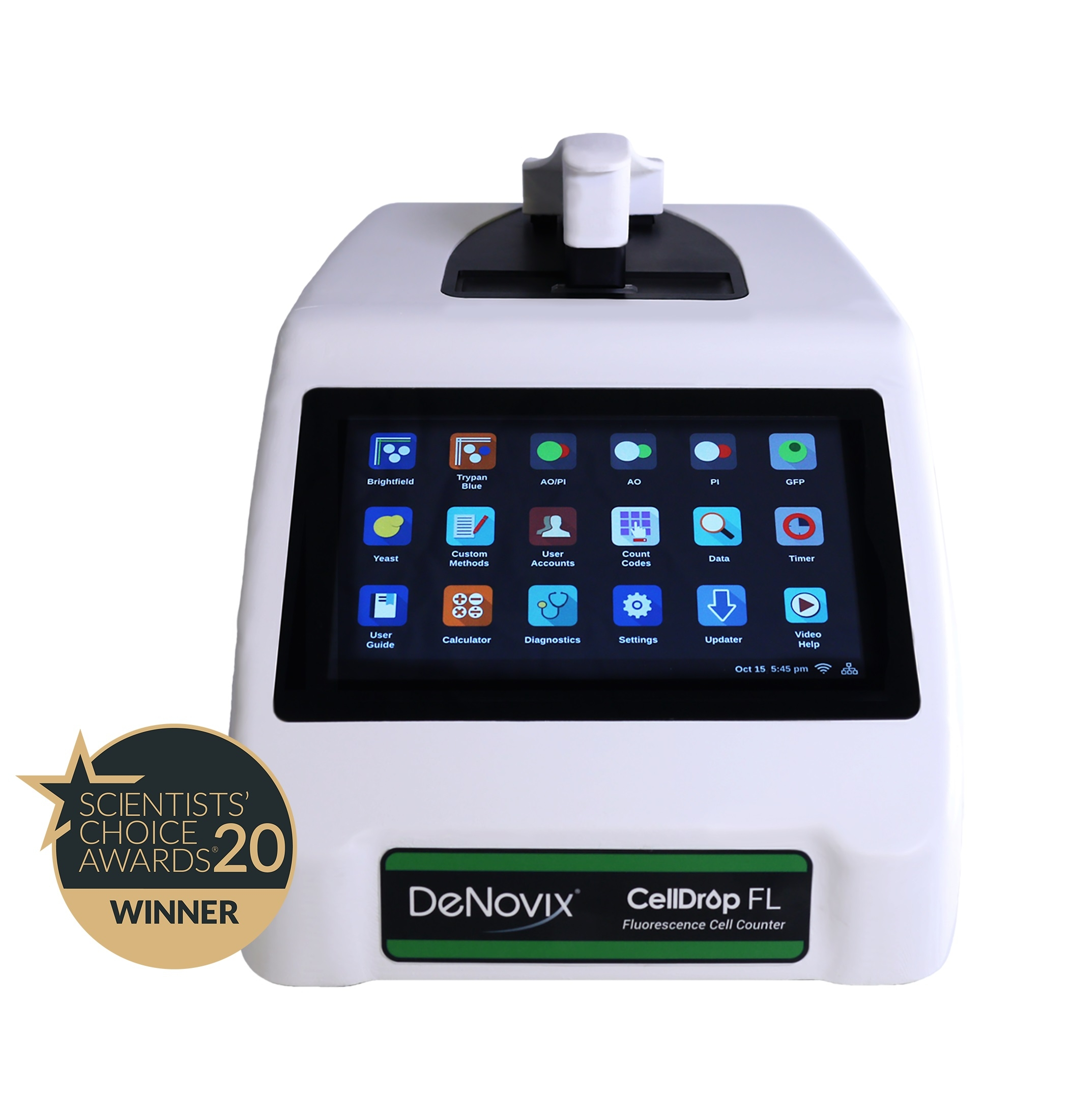 DeNovix CellDrop™ Cell Counters by DeNovix thumbnail